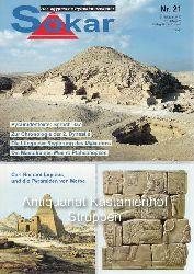 Haase, Michael  Sokar, das ägyptische Pyramidenzeitalter.,Nr. 21. 2. Halbjahr 2010.