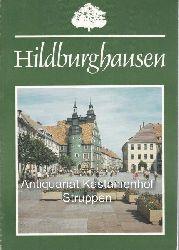 Braungart, Margarete  Hildburghausen.,Stadtführer.