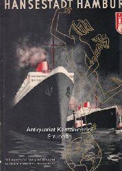 Schulze, Adolf Ernst  Hansestadt Hamburg.,Deutschland. Mehrsprachige illustrierte Zeitschrift für Wirtschaft, Aufbau und Kultur.