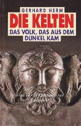Herm, Gerhard  Konvolut 6 Bücher über die Kelten. 1. Die Kelten. Das Volk, das aus dem Dunkel kam.,2. Die Mythologie der Kelten und Germanen. 3. Die letzten Tage der Kelten.