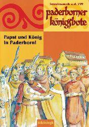 Brehm, Christiane  Paderborner Königsbote.,Papst und König in Paderborn. Heuuiamanoth a. d. 799.