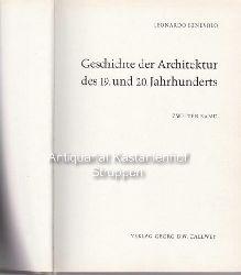 Benevolo, Leonardo  Geschichte der Architektur des 19. und 20. Jahrhunderts.,Zweiter Band.