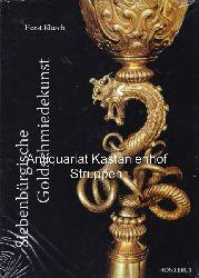 Klusch, Horst  Siebenbürgische Goldschmiedekunst.