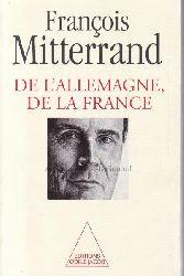 Mitterrand, François  De l