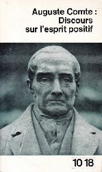 Comte, Auguste  Discours sur l