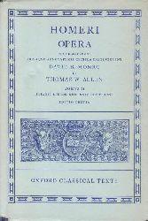 Monro, David B.; Allen, Thomas W.  2 Bände Homeri Opera. Oxford Classical Texts.,Tomus II: Iliadis Libros XIII-XXIV continens. Editio Tertia. Tomus IV: Iliadis Libros XIII-XXIV continens.