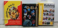 Katalog - Spielzeug aus dem Ei /  O - Ei - A /  Allerlei aus dem Ei ,Taschenbuchausgabe Herbst 98  / Preisführer 1999 , 2000 /  Preisführer 1998