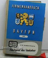 Firmenhandbuch Bayern 1973