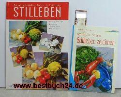 Michael Fischer / Karl-Heinz Morschbeck  Konvolut 2 Bücher Stilleben zeichnen,Stilleben / Stilleben zeichnen