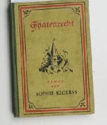 Kloerss, Sophie  Spatenrecht