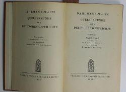 Haering, Hermann  Dahlmann-Waitz, Quellenkunde der deutschen Geschichte,NUR Registerband
