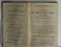 Camões, Luis de  Os Lusiadas,Poema Epico. Nova Edicao. Conforme a de 1817, in 4°, de Dom José Maria de Souza-Botelho. Correcta e dada á Luz por Paulino de Souza.