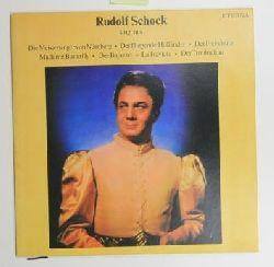 Schock, Rudolf  Rudolf Schock singt aus: ,ie Meistersinger von Nürnberg, Der fliegende Holländer, Der Freischütz, Madame Butterfly, Der Bajazzo, La Traviata, Der Troubadour - Vinyl