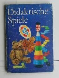 Arndt, Marga u.a.  Didaktische Spiele für den Kindergarten