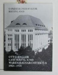 Grunsky, Eberhard  Otto Engler, Geschäfts- und Warenhausarchitektur 1904 - 1914,Arbeitsheft 28