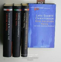 Christensen, Lars Saabye u.a.  Konvolut 5 Bücher Krimi International:,1. Christensen: Der falsche Tote;