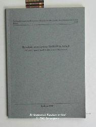 Hoppe, Günther [Red.]  Revolutionsereignisse 1848/49 in Anhalt,zwischen neuer Rechtsbildung und Repression - Gedenkrede, Aufsätze, Dokumente