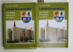 Schinkel, Hans-Georg (Bearb.)  Lokalbibliographie zum Bezirk Hellersdorf von Berlin;  Band 1 und 2,Band 1: Bibliographischer Teil; Band 2: Register - Teil