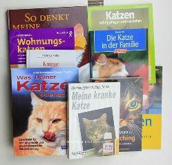 Birr, Ursula u.a.  Konvolut zehn Katzenbücher:,1. Birr: Die Katze in der Familie;