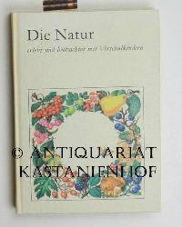 Arndt, Marga  Die Natur erlebt und beobachtet mit Vorschulkindern
