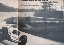 Flower, Raymond u.a.  Konvolut zwei Bücher Autosport:,1. Flower: Autorennen von damals bis heute; 2. Nicholson: 10 000 Meilen zwischen Start und Ziel (1970)