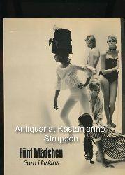 Haskins, Sam  Fünf Mädchen,Übersetzung Werner von Grünau