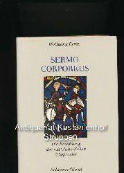 Kemp, Wolfgang  Sermo corporeus,Die Erzählung der mittelalterlichen Glasfenster