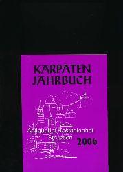 Kobialka, Hans (Redaktion)  Karpaten-Jahrbuch 2006,Kalender der Karpatendeutschen aus der Slowakei, Jahrgang 57