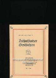 """Pratsch, Richard Bruno  Zschachwitzer Geschichten,Heimatliche Betrachtungen aus """"Heimatbriefe"""" der Industrie- und Gartengemeinde Zschachwitz 1940 - 1944"""