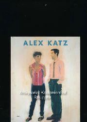 Katz, Alex; Heymer, Kay  Alex Katz; Mit einem Essay von Kay Heymer,[erscheint anläßlich der Ausstellung Alex Katz - Bilder, Zeichnungen, Skizzen in der Stadtgalerie Sundern, 27. März - 24. Mai 1998]