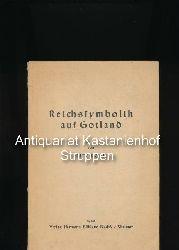 """Rörig, Fritz  Reichssymbolik auf Gotland,Heinrich der Löwe, """"Kaufleute des Römischen Reichs"""", Lübeck, Gotland und Riga"""