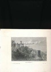 Fürstenberg - Original-Stahlstich,Aus d. Kunstanst. d. Bibliogr. Instit. in Hildbh.