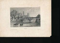 Durham - Original-Stahlstich,LXXVI
