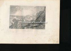 Giants Causeway Ireland. - Original-Stahlstich,XXXXVIII. Aus der Kunstanstalt des Bibliogr. Instituts i. Hildbh.