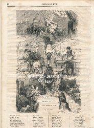 Castelli  Tableau de Paris a cinq heures du Matin. Par Désaugiers. - Holzstich,Journal pour tous. Nr. 736/19.10.1864