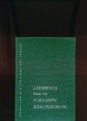 Prietz, Gerhard  Lehrbuch über die Personenbeschreibung