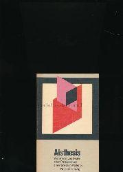 Barck, Karlheinz; Gente; Paris; Richter [Hrsg.]  Aisthesis - Wahrnehmung heute oder Perspektiven einer anderen Ästhetik,Essais; mit 13 Künstlersprüchen
