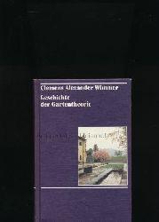 Wimmer, Clemens Alexander  Geschichte der Gartentheorie