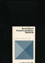 Kirsch, Sarah  Katzenkopfpflaster,Gedichte