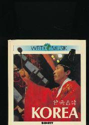 Burde, Wolfgang [Hrsg.]  Welt-Musik - Korea,Einführung in die Musiktradition Koreas