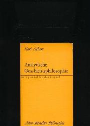 Acham, Karl  Analytische Geschichtsphilosophie,Eine kritische Einführung