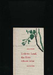 Jessenin, Sergej  Liebstes Land, das Herz träumt leise,Gedichte; Nachdichtungen von Adelheid Christoph ubd Erwin Johannes Bach