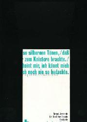 Jessenin, Sergej  Ein Rest von Freude,Gedichte