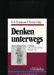 Ebbinghaus, Heinz-Dieter; Vollmer, Gerhard [Hrsg.]  Denken unterwegs,Fünfzehn metawissenschaftliche Exkursionen