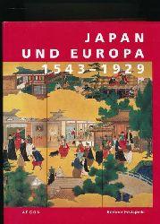 """Croissant, Doris; Ledderose, Lothar [Hrsg.]  Japan und Europa 1543 - 1929,Eine Ausstellung der """"43. Berliner Festwochen"""" im Martin-Gropius-Bau Berlin"""