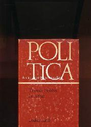 Hobbes, Thomas  Leviathan,oder Stoff, Form und Gewalt eines bürgerlichen und kirchlichen Staates