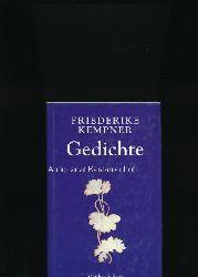 Kempner, Friederike  Gedichte,Ausgabe letzter Hand; Mit einem Vorwort von Hartmut Lange und mit Vignetten von Max Klinger