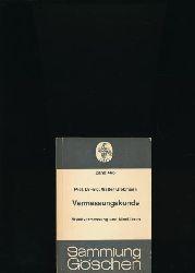 Großmann, Walter  Konvolut drei Bücher: Vermessungskunde,I: Stückvermessung und Nivellieren; II: Horizontalaufnahmen und ebene REchnungen