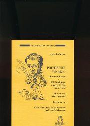 Laforgue, Jules  Poetische Werke: ,Lamentationen  - Die Nachfolge unserer lieben Frau Mond - Blumen des besten Willens - Letzte Verse