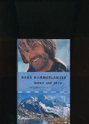 Kammerlander, Hans; Beikircher, Ingrid  Unten und oben/mit Widmung des Verfassers auf Vortitel, ,Berggeschichten